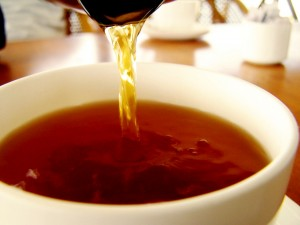 Tea is a common source of theanine